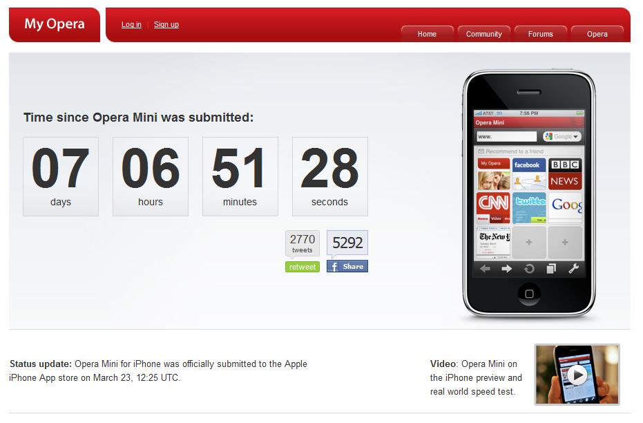 Buzz Marketing Cool Viral ไวรัสการบอกต่อ กรณีศึกษา Adobe CS5 และ Opera for iPhone