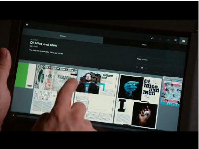 Demo นิตยสาร Wired บน iPad App {Video}