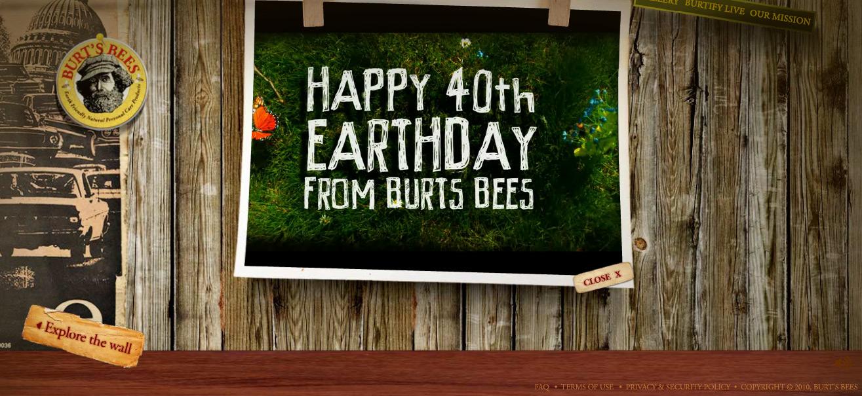 40th Earthday คุ้มครองโลก กับ Burt's Bees