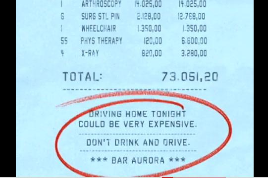 แคมเปญนี้สอนให้เข็ด Don't Drink & Drive
