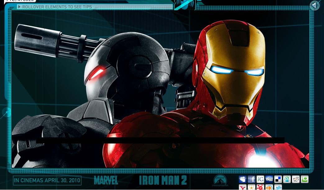 เท่ส์ไปเลย… Iron Man 2 กับ AR Technology
