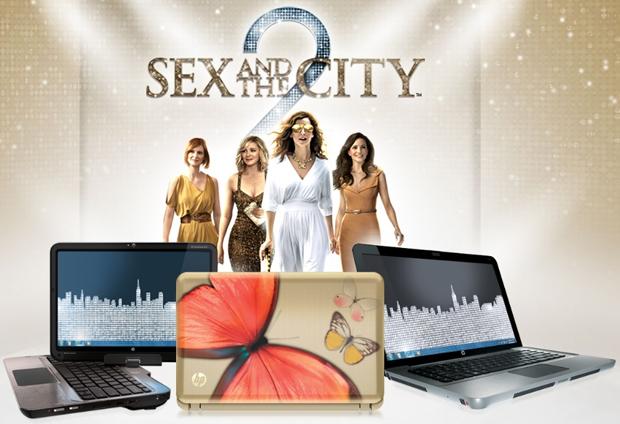 แคมเปญ HP กลับมาใหม่ในหนัง Sex and the City 2