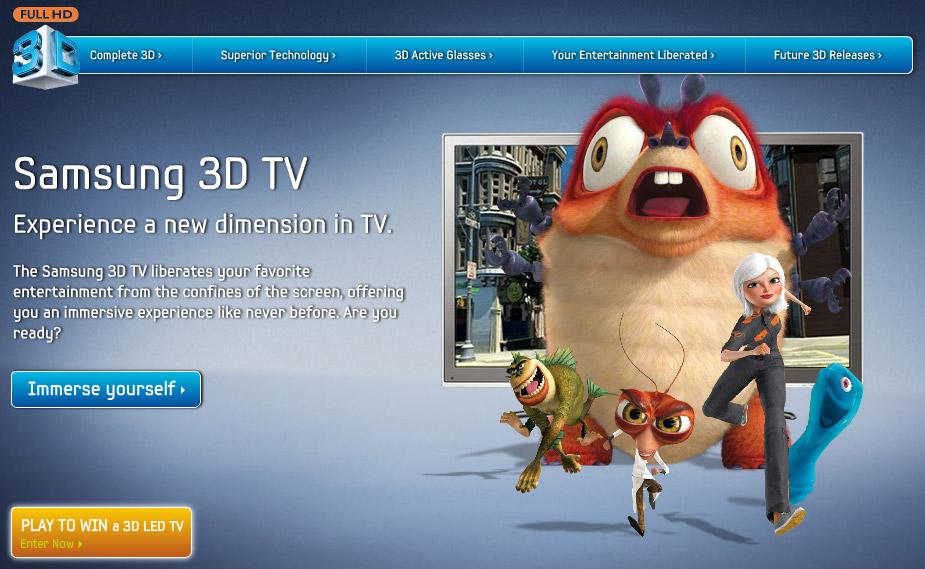 ประสบการณ์จริงของ Samsung LED 3D TV