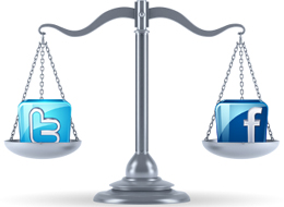 Facebook VS Twitter คนไทยถูกใจอันไหนมากกว่ากัน