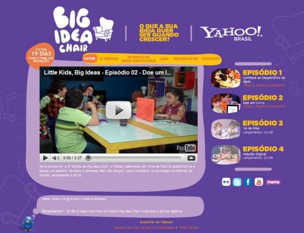 Yahoo! บราซิลให้เด็กๆมาลองทำแคมเปญ…น่ารัก