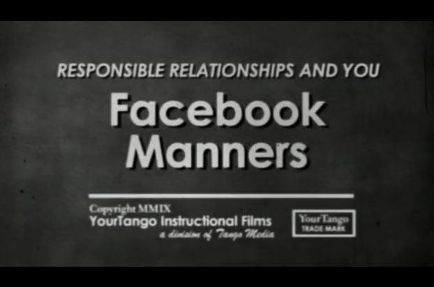 มารยาทในการใช้ Facebook (Webby Award)