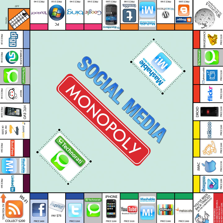 Monopoly เวอร์ชั่น Social Media