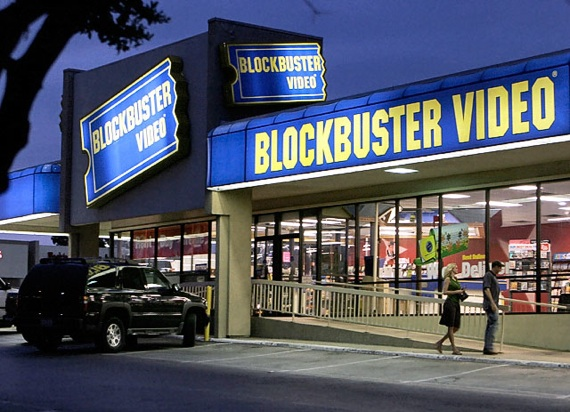 Blockbuster เจอมรสุมออนไลน์..ใกล้จะไปซะแล้ว