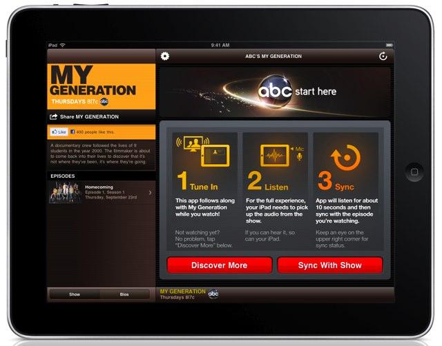 Interactive TV ผ่าน iPad