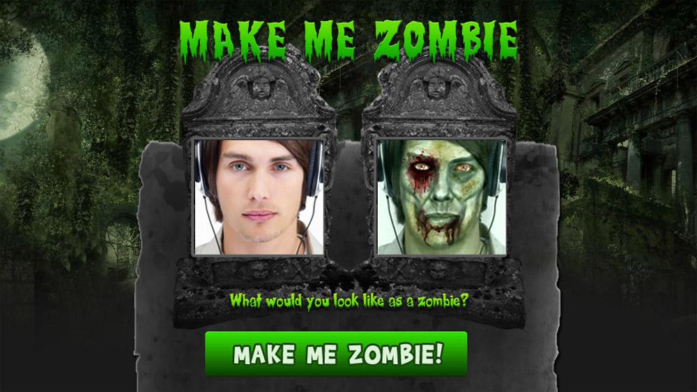 ใครอยากเป็น Zombie นี่เลย Makemezombie.com