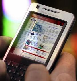 ข้อมูลผู้ใช้โทรศัพท์มือถือและอินเทอร์เน็ต