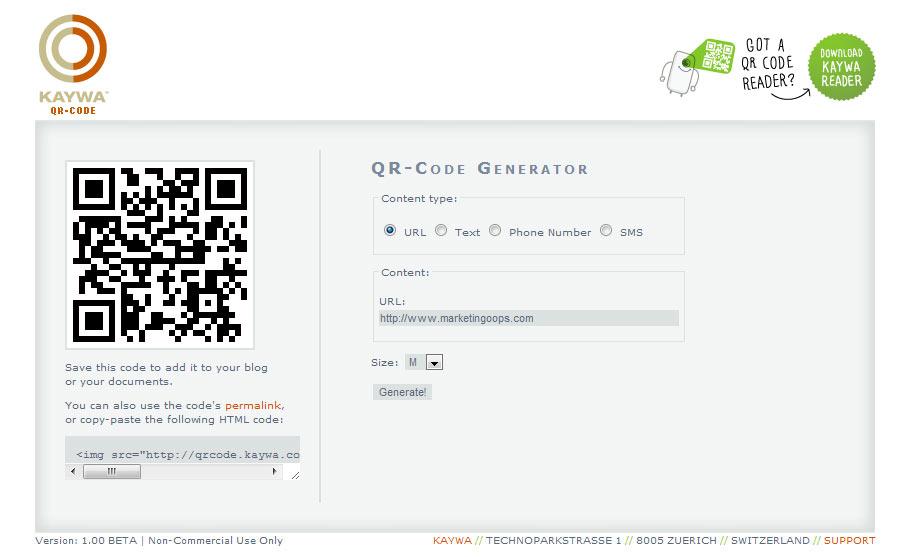 7 Web Sites ให้เราสร้าง QR-Code ได้เองแบบฟรีๆ