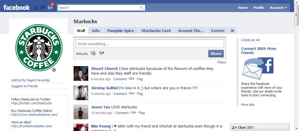 การตลาดเชิงประสบการณ์ผ่าน Facebook Page: Starbucks