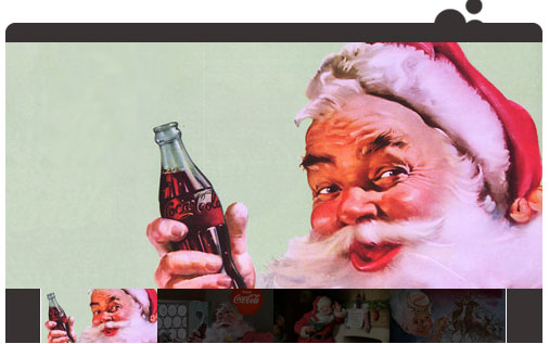โค๊ก คริสมาส และซานต้าครอส