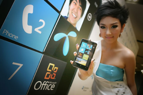 dtac + HTC + Microsoft = Windows Phone 7