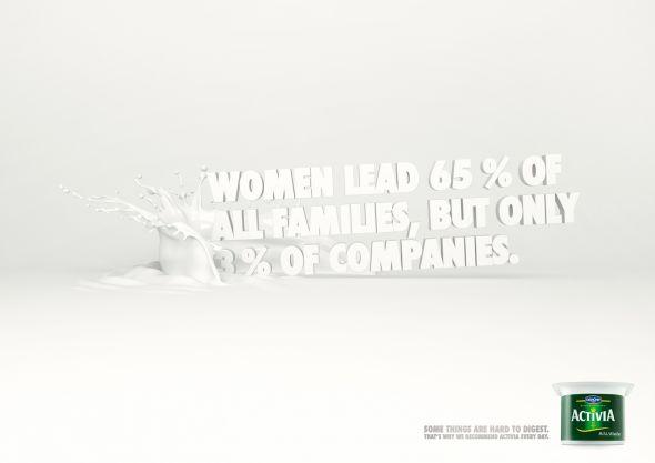 เห็นโฆษณาแบบนี้ ผู้หญิงอย่างเราจะคิดอย่างไร ><?