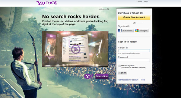 find yahoo mail