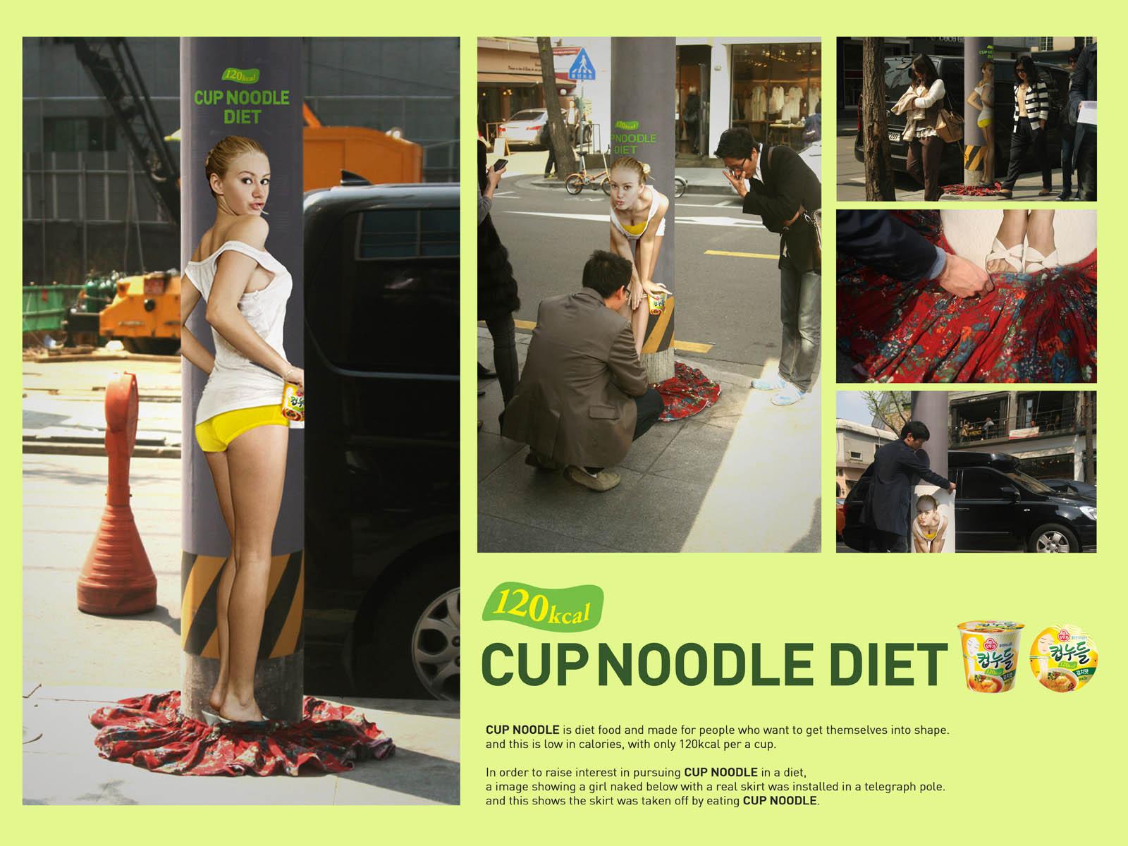 Cup Noodle Diet