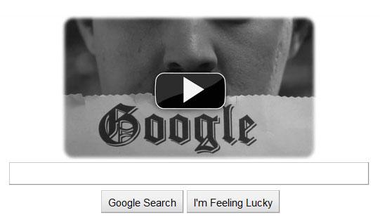 Google ฉลอง 122 ปีของ Charlie Chaplin