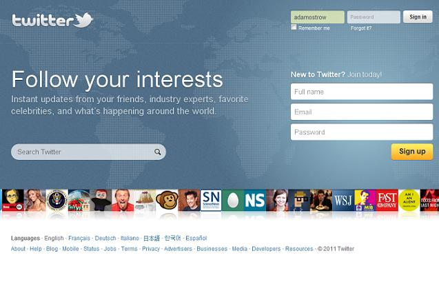 Twitter ออกดีไซน์โฮมเพจใหม่