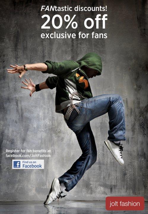 """แคมเปญ Viral Marketing ใหม่บนเฟสบุ๊ค """"รับส่วนลดทันทีเมื่อเป็น Fan"""""""
