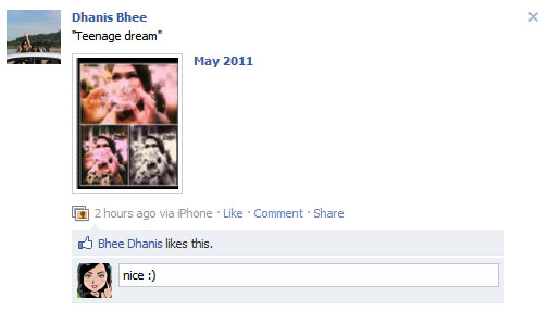 Facebook ให้เราแก้ไขข้อความได้แล้ว ^^