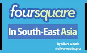 ตัวเลขผู้ใช้ Foursquare ใน SEAsia