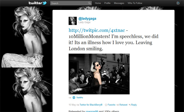 Lady GaGa อย่างต่ำ ชีต้อง 10 ล้าน!