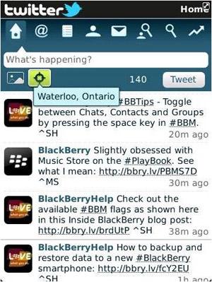 [Pr] ริม เปิดตัวแอพพลิเคชั่น Twitter for BlackBerry