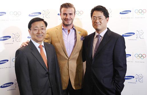 เดวิด เบ็คแฮม + ซัมซุง >> 2012 Olympic Games