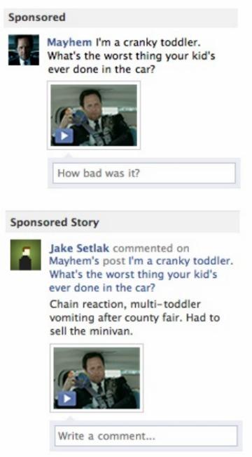Facebook เพิ่ม Ad ใหม่ให้ใส่ comment