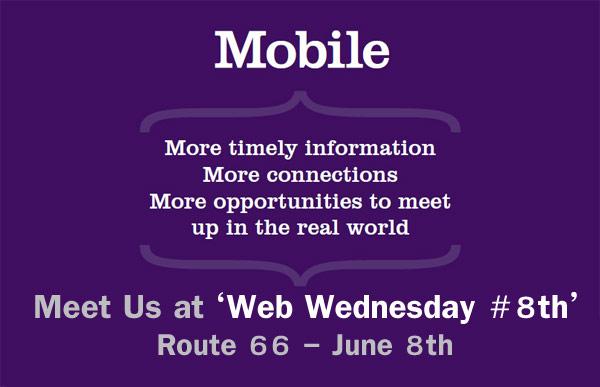 Web Wednesday #8 ครั้งนี้จัดเต็มกับ Mobile App & Marketing