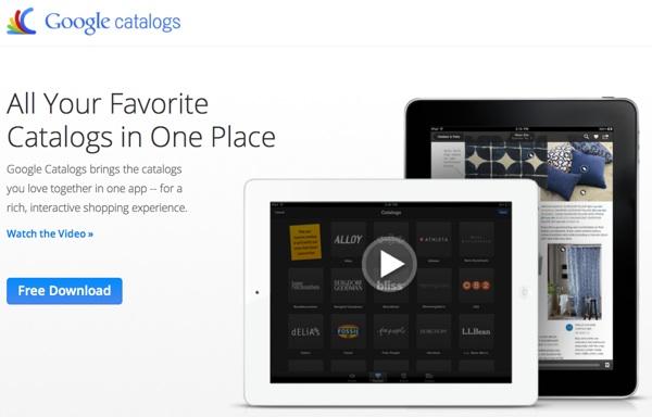 กูเกิลเปิดตัวแอปฯ Google Catalogs รวมแคตาล็อกทุกสินค้าไว้บนไอแพด