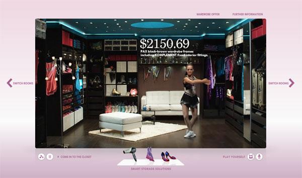 Interactive Ads รูปแบบใหม่จาก IKea