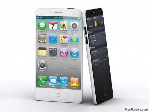 เขาว่า iPhone 5 จะน่าตาแบบนี้