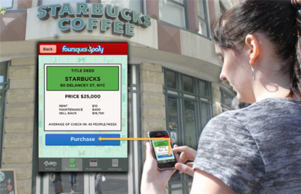 Foursquaropoly เมื่อเกมเศรษฐีมาเจอกับ Foursquare!