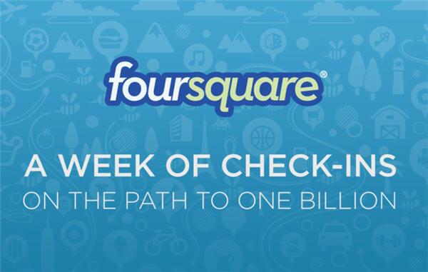 Foursquare ยอดเช็กอินทะลุ 1,000 ล้านแล้วจ้า!