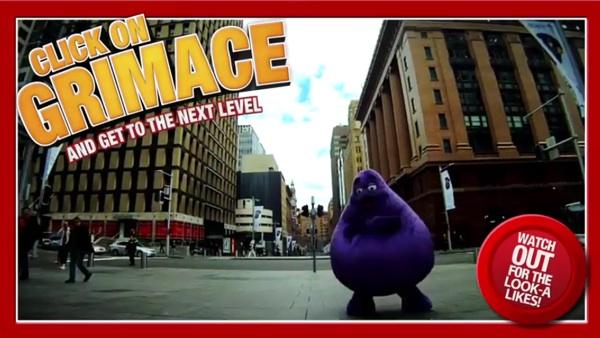 MCdonald ชวนสนุกกับเกมอินเตอร์แอคทีฟใน Youtube เพื่อตามหา Grimace
