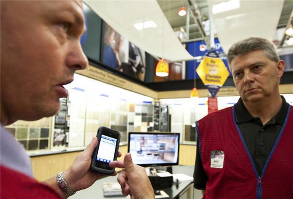 ห้าง Lowe's อัปเกรดการขายด้วย iPhone