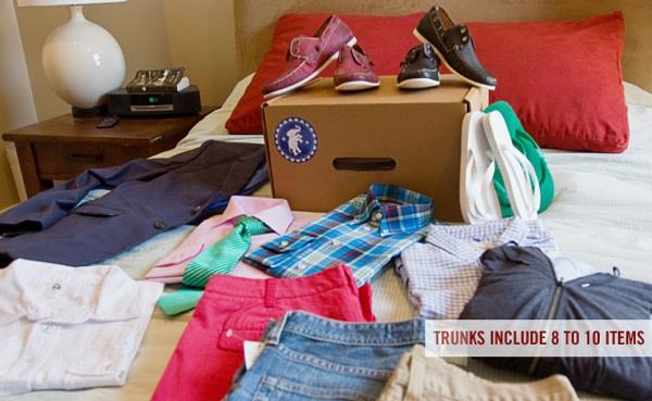 Trunk Club ขายเสื้อผ้าสำหรับผู้ชายที่ไม่ชอบเดินห้าง