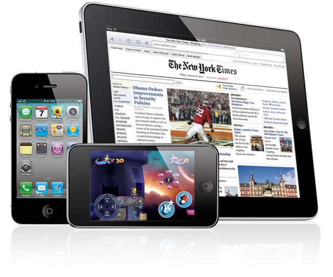 iPad ท่องเว็บแซง iPhone