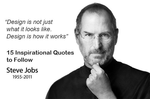 15 คำคม..สร้างแรงบรรดาลใจจาก Steve Jobs