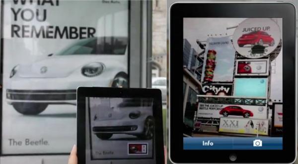 โฆษณาโฟล์ค บีทเทิ่ล 2012! ขายผ่าน AR