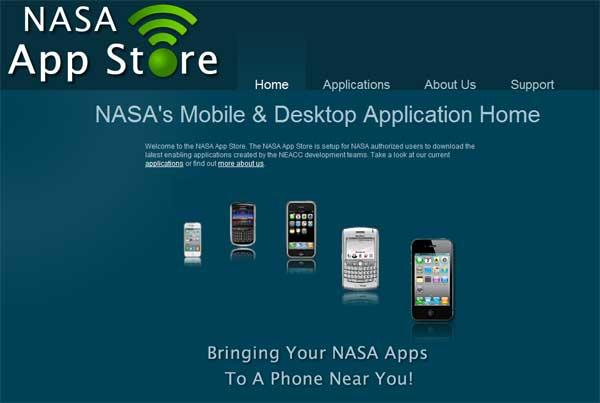"""แม้แต่ """"NASA"""" ยังมีร้านแอปสโตร์"""