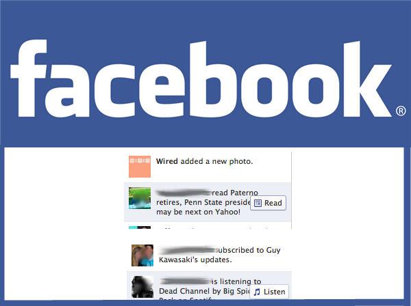 ไม่ใช่แค่ Like, เฟซบุกออกปุ่มใหม่ Read, Listen