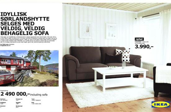 IKEA มามุขใหม่ขายบ้านพ่วงโซฟา