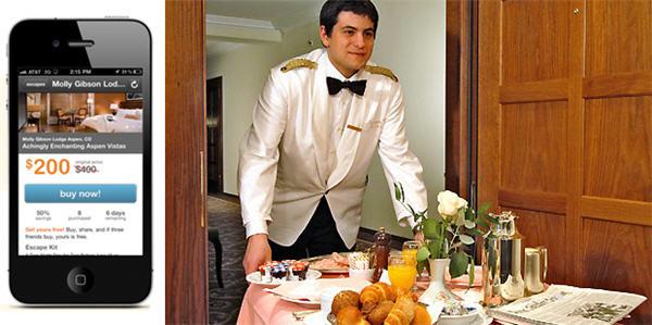 LivingSocial เพิ่มความพิเศษด้วยบริการ Room Service