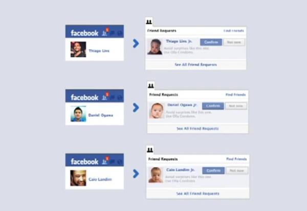 หนุ่มๆ จะตะลึงแค่ไหน?เมื่อ Friend Request ใน Facebook ไม่ใช่เพื่อนใหม่แต่กลายเป็นลูกของคุณ!