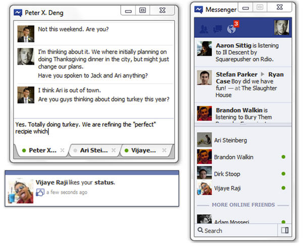 MSN หลีกไป Facebook Chat พร้อมเป็นเจ้าตลาด!
