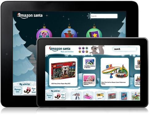 Amazon ออกแคตาล็อกบน iPad ให้เด็กใช้